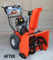 Snowblower replacement parts for shoes, skids or plates