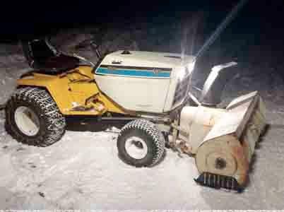 Snow blower Skids/Plates
