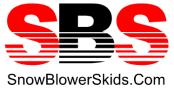 Snow Blower Skids