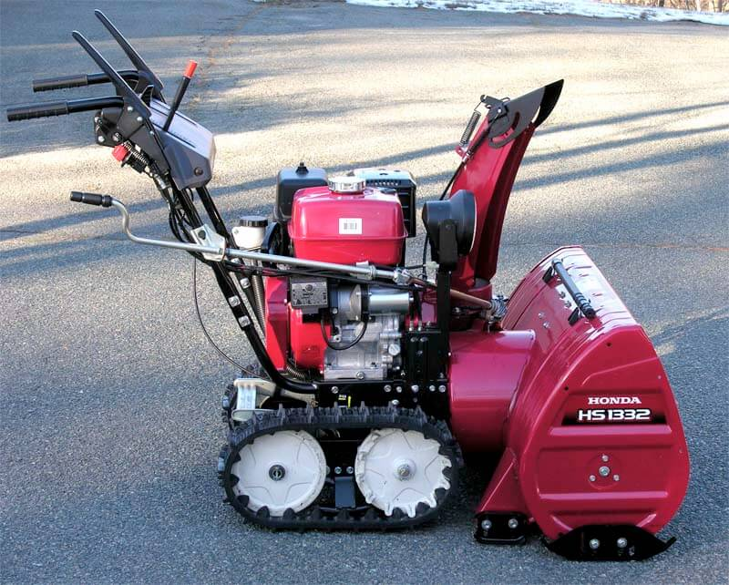 on two honda skid the your to scraper adjust how snow blower shoes inspect stage diy and blowers snowblowers