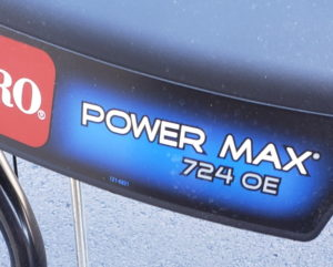 Toro Powermax 724 OE image 2