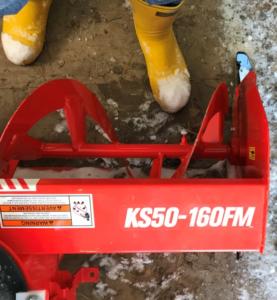 Kioti KS50-160FM